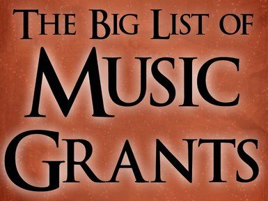 Multipurpose Grants Academy of Country Music -- October 31 Music Education, Music Camps, Music Therapy CDSS Outreach Funds & Application Guidelines -- Feb, June, October Supports a wide variety of...
