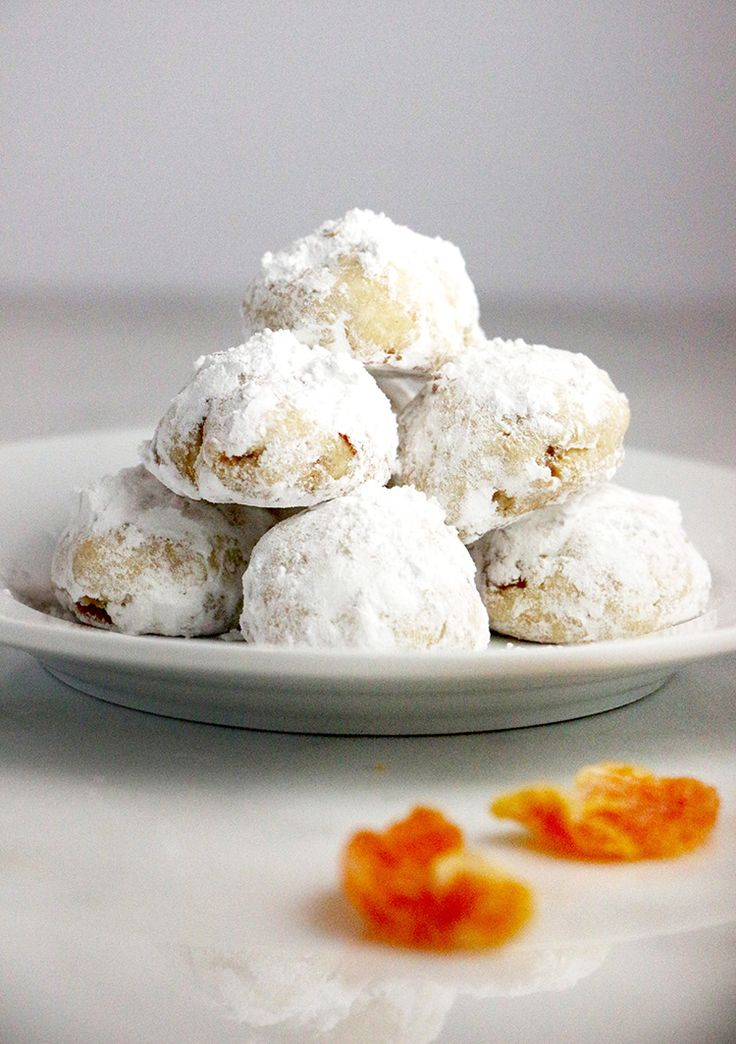 These Mandarine Orange Snowballs can be made with …