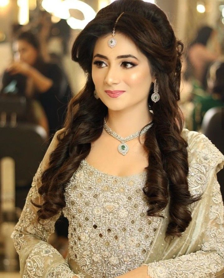 Pakistani Wedding Season Pakistani Wedding Hairstyles Pakistani Hair Bridal Makeover