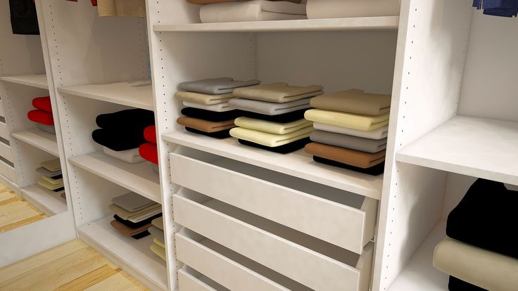 ein begehbarer kleiderschrank schafft ordnung und. Black Bedroom Furniture Sets. Home Design Ideas