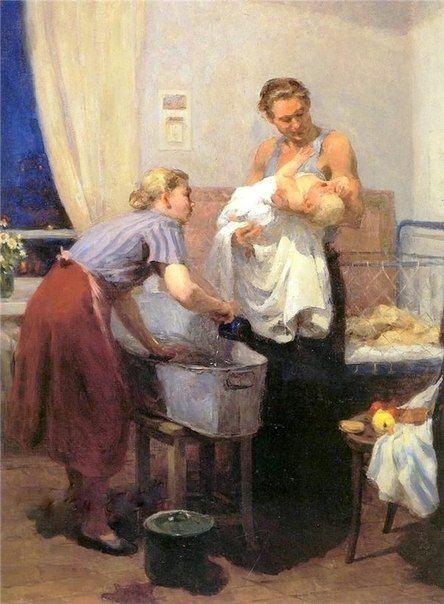 Советская бытовая живопись | 376 фотографий | ВКонтакте