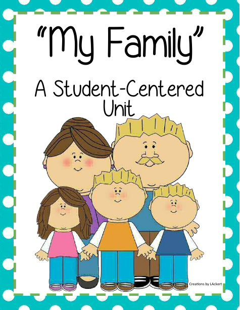 "<3 My Family ~ A Student Centered Unit (NEW DOWNLOAD) <3 Included: Writing/Art ""My Family"", Acrostic Poem, Word Search, Family Traditions Cards, Venn Diagram and more!   Download Club members can download @ http://www.christianhomeschoolhub.com/pt/All-about-Me---Learning-about-Self--Family/wiki.htm Not a Download Club member? Subscribe @ http://www.christianhomeschoolhub.com/?page=base&cmd=signup"