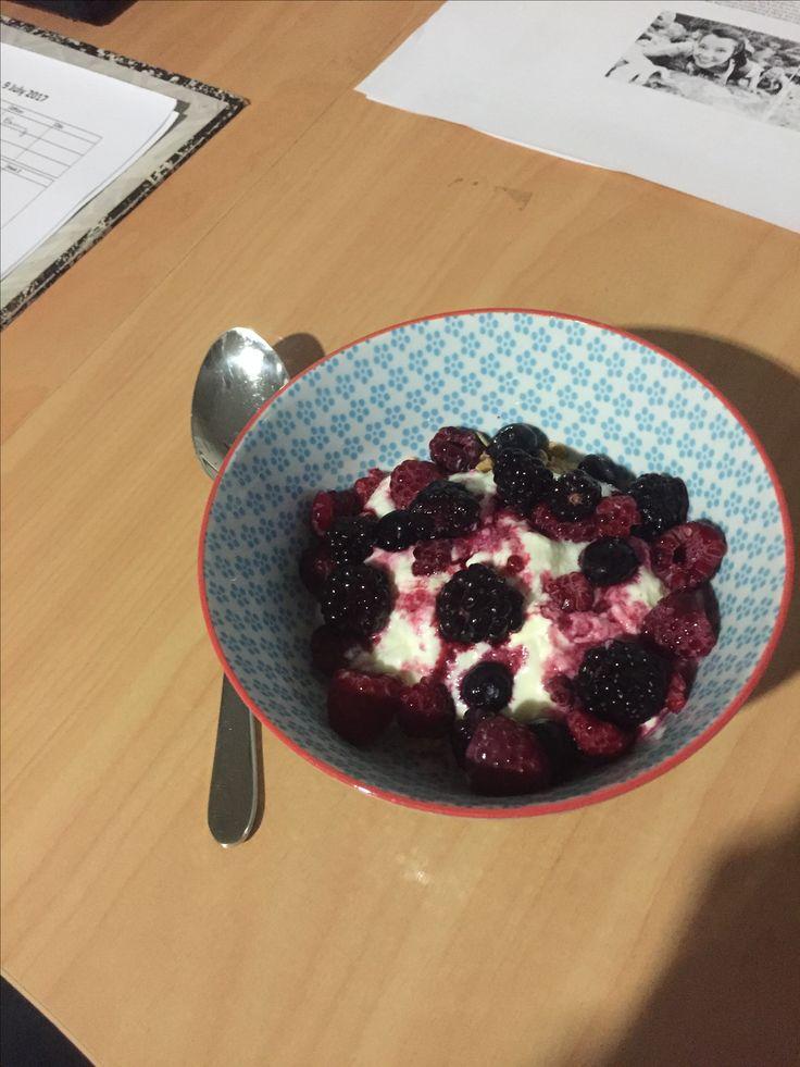 Pre-shift nourishment