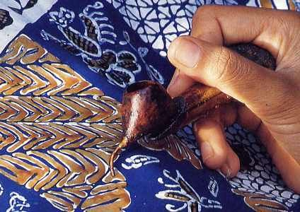 Hand Made Batik Process! Find our more information about Hand made Batik Sarong  Clothing! www.LotusResortWear.com