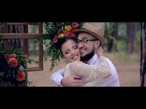 Шикарная Свадьба в стиле Рустик, ведущая Киева и области Олеся Устенко - YouTube
