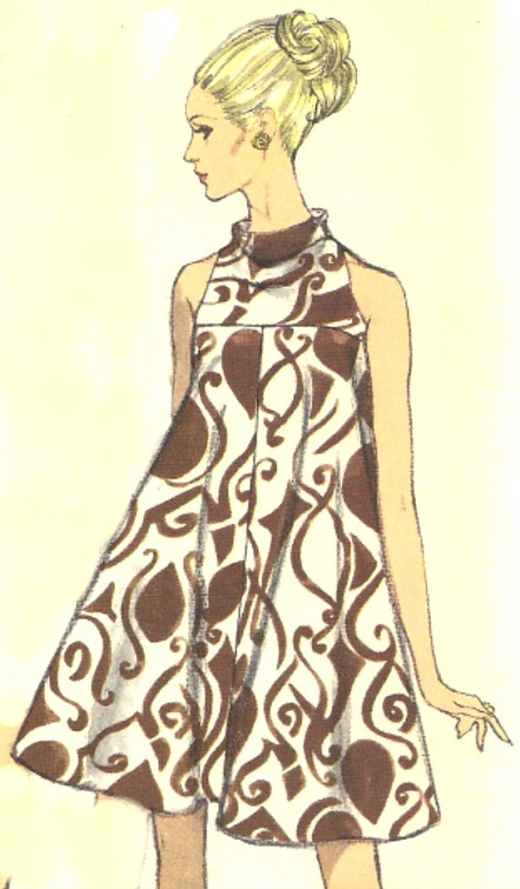 Vintage Tent Dress Vogue Pattern