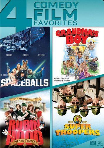 Spaceballs/Grandma's Boy/Robin Hood: Men In Tights/Super Troopers [4 Discs] [DVD]