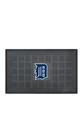Fanmats  Mlb Detroit Tigers Medallion Door Mat - Black