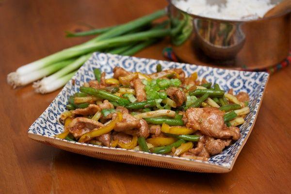 Pork and String Bean Stir Fry | Big Girls Small Kitchen: I ...
