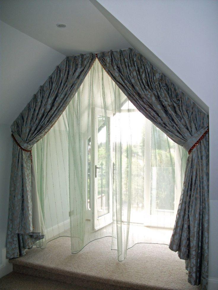 17 Ideen Zu Gardinen Fu00fcr Dachfenster Auf Pinterest