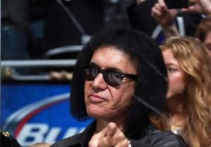 A radio station has banned Kiss after comments made by bigmouth frontman Gene Simmons about depression.