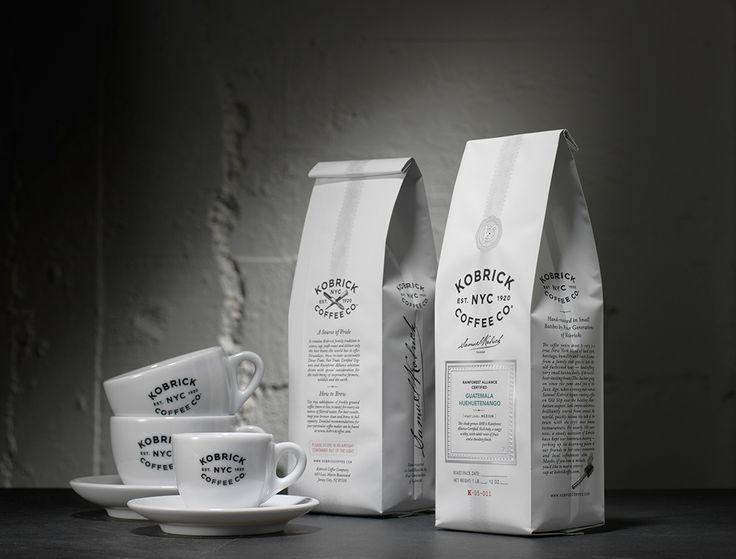 Kobrick Coffee Co. by Sandstrom partners.