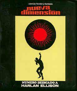 nueva dimensión 29 (febrero, 1972). Portada de Enrique Torres. Ilustrador Esteban Maroto. Número dedicado a Harlan Ellison. #nd