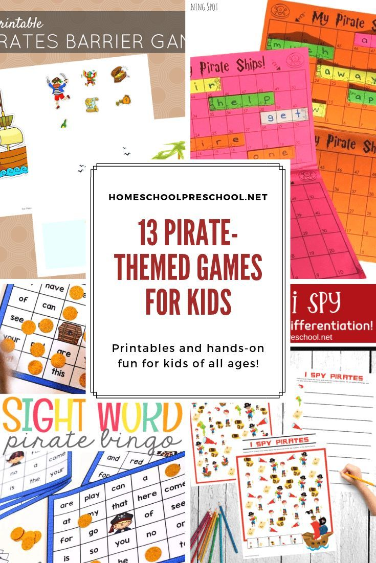 These Pirate Games For Preschoolers Are Perfect For Home And School Practice Early Math And Li Preschool Games Transportation Theme Preschool Preschool Themes [ 1102 x 735 Pixel ]