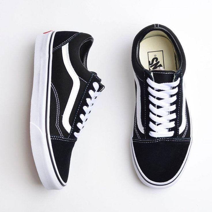 Vans Old Skool Schwarz Weiß Schuhe VN000D3HY28#fashionlife