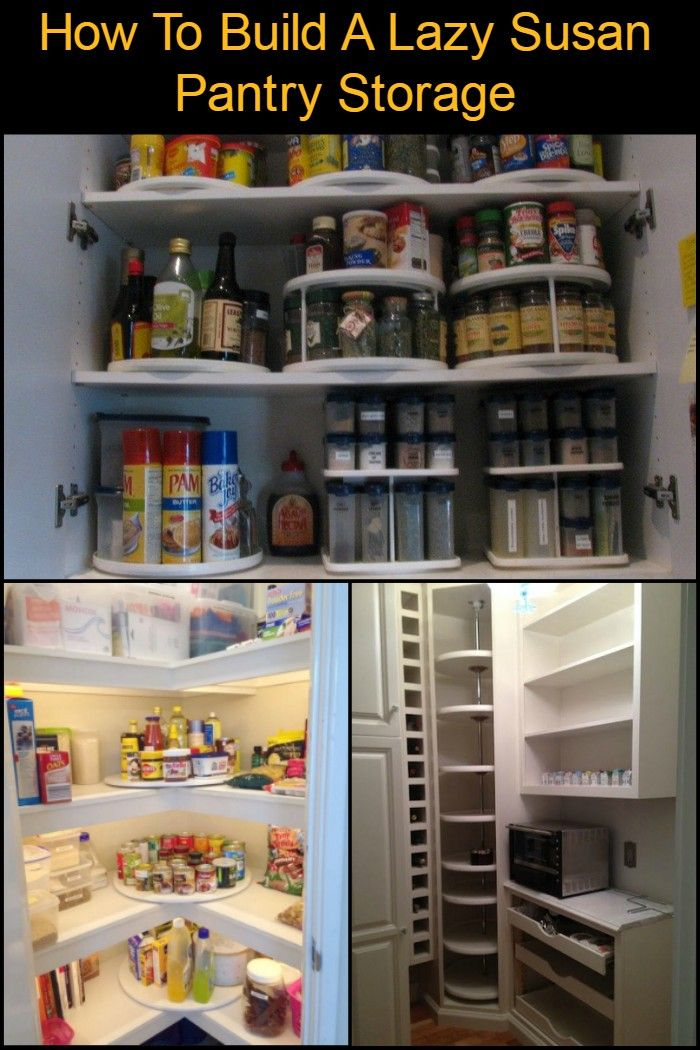 Merveilleux How To Make A Lazy Susan Pantry Storage | Household | Pinterest | Pantry,  Lazy And Storage
