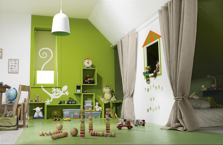 ✿ ◠ ‿ ◠) ◠ ‿ ◠) #Decoration_interieur #Interior_design | #Decoration_enfant | #Child_decoration | Shared room #LycOdeco