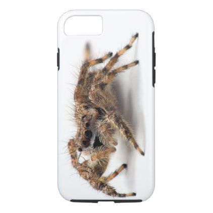 (scary spider) iphone 7/8 case - cool gift idea unique present special diy