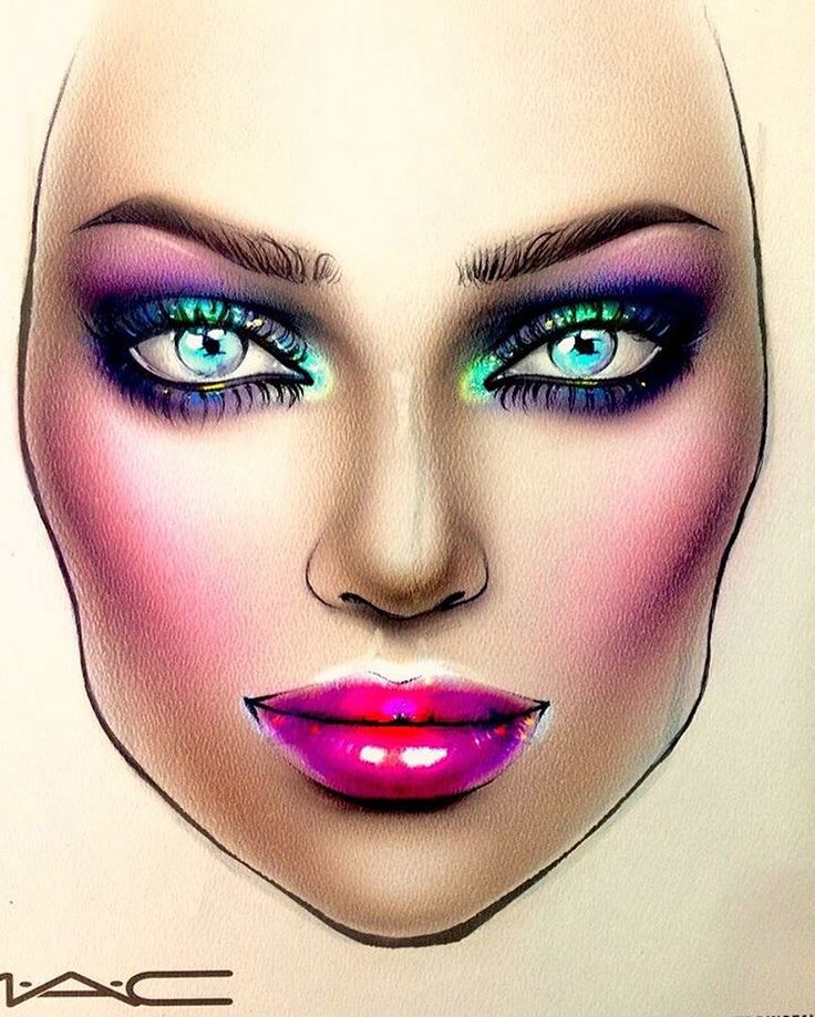 "2,606 Likes, 12 Comments - Sergey X (@milk1422) on Instagram: ""#artist@milk1412 #mylove #myart #myartistcommunity #myartistcommunityrussia #makeup #makeupart…"""