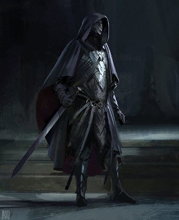 Assassin Sketch - by John J Park, Brainstorm School on ArtStation at https://www.artstation.com/artwork/assassin-sketch-by-john-j-park