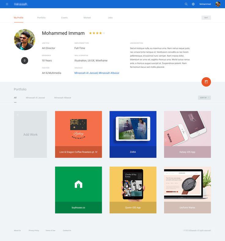 Material profile
