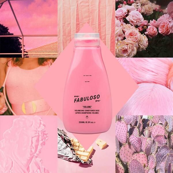 Pastel Pink Hair Colour - Evo Fabuloso Pro 250ml