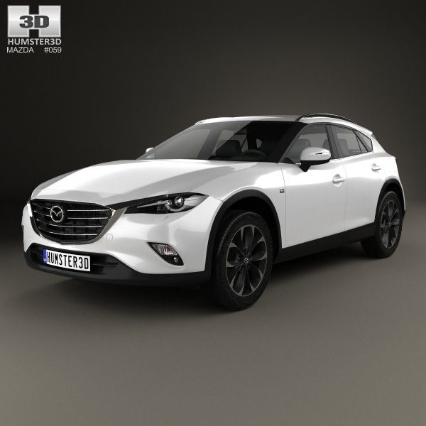 Mazda CX-4 2016 3d model from Humster3D.com.