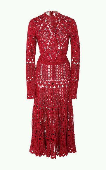 3b88f2f8d Compre Vestido Crochê Adulto no Elo7 por R  749