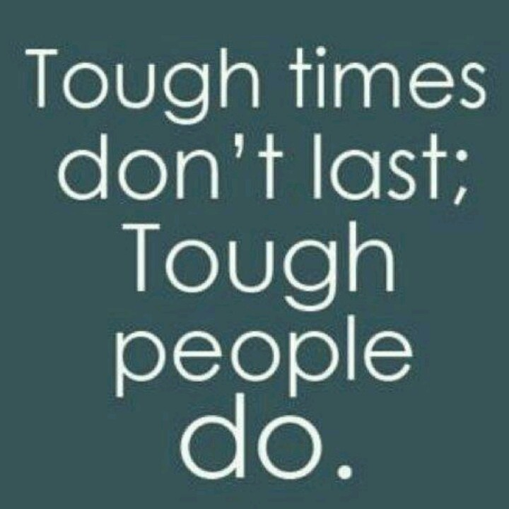 Quotes On Going Through Tough Times: When You're Going Through A Tough Time, It's Like You're
