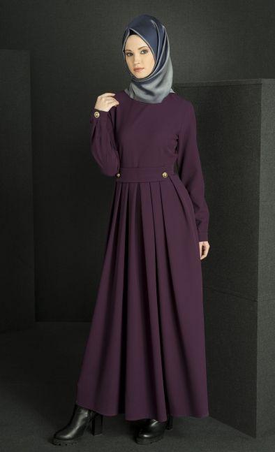 Abacı Mor Elbise-15E7014 - ABACI
