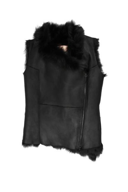 Fur Vests 2012 - Faux and Real Fur Vests 2012 - ELLE
