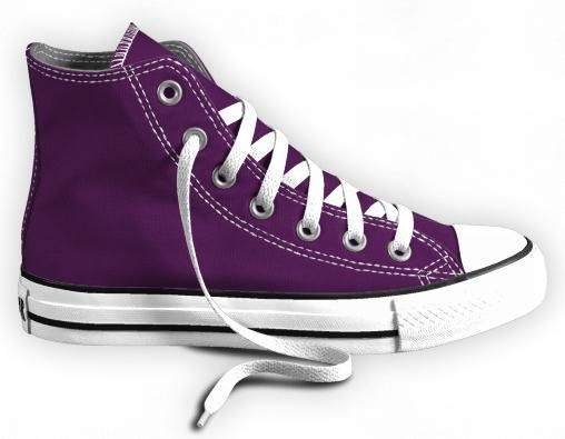Purple Converse | purple converse graphics and comments