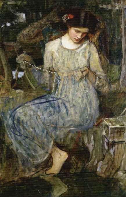 The Necklace - John William Waterhouse 1909
