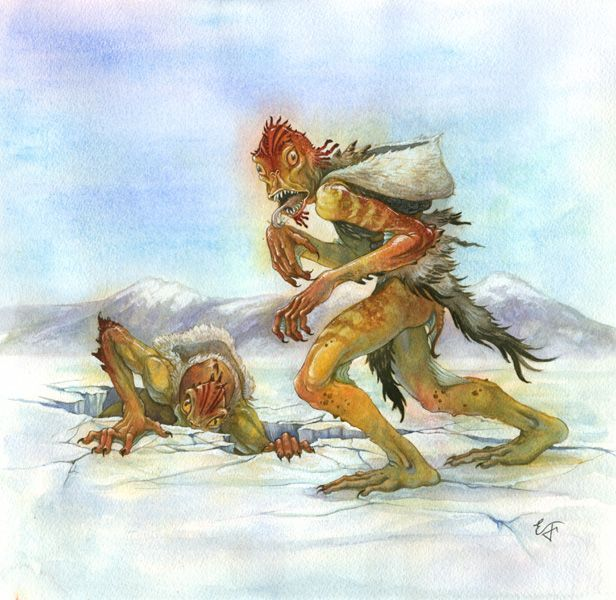 greek and inuit mythology Many people have been exposed to egyptian, greek, and roman mythology, but   the inuit believed this creepy creature was an underworld deity that makes.