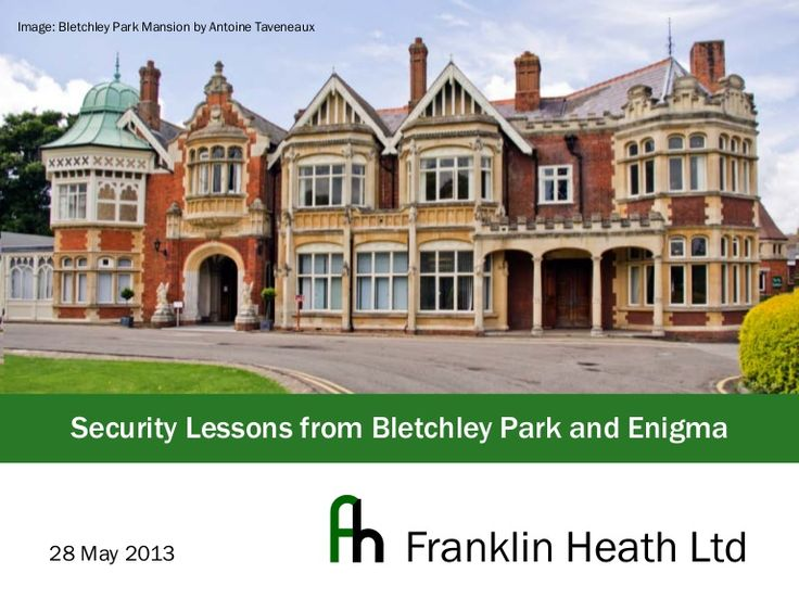 Presented at DC4420 in London. A brief review of how the Enigma machine works, how it was broken, and how security people keep making similar mistakes today.