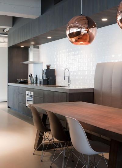 Wandtegels Keuken Karwei : Tegel Keuken op Pinterest – Witte Tegels, Bruin Graniet en Keukens