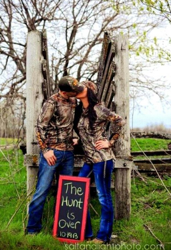camo wedding photo ideas for country rustic weddings 2014