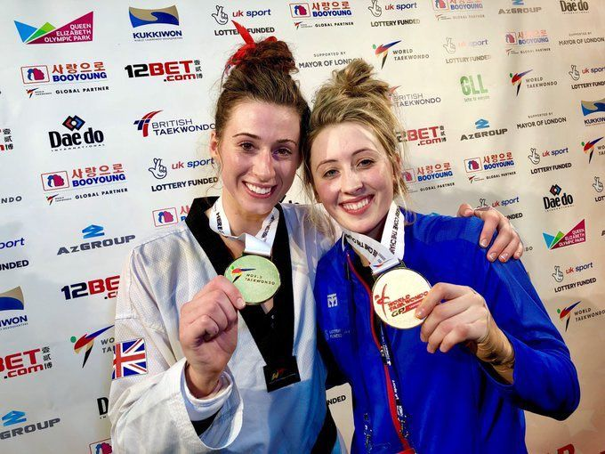 October 22 2017 - Bianca Walkden and Jade Jones both win golds on memorable day for Team GB at the World Grand Prix in London