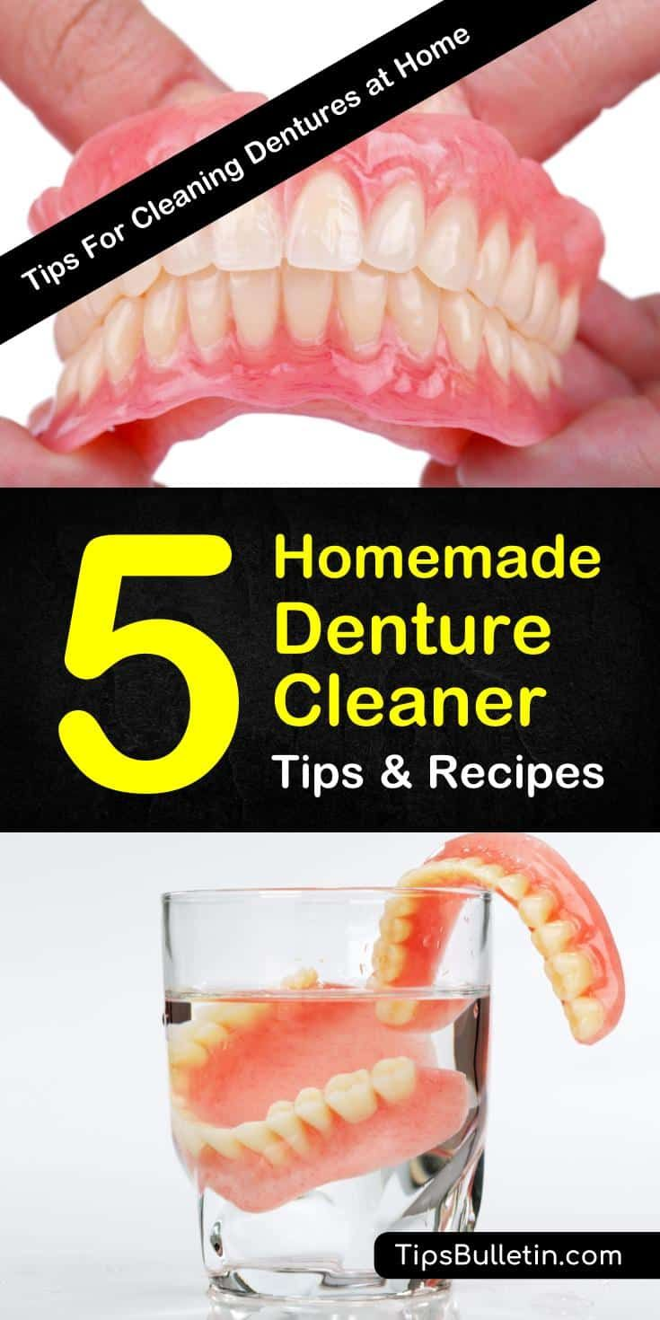 Learn how to make a homemade denture cleaner using these natural dental life hacks. Create a diy denture cleaner using ingredients like water and vinegar ...