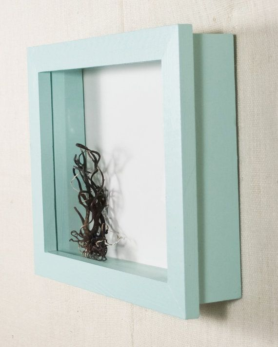 Deep Shadow Box - 12x12 Shadow Box Frame - Custom Color - Display Case, Picture Frame, Display Frame