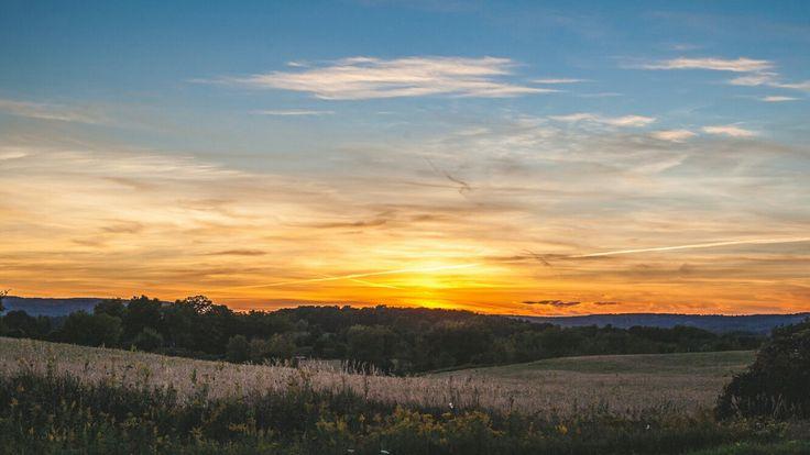 #sun #sunset #sunsets #clouds #sky #skyporn #wicked #amazing #caledon #ontario