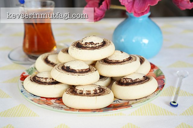 Mushroom Shaped Cookies Recipe