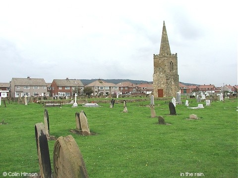 The ruins of St. Germain's Church, Marske by the Sea