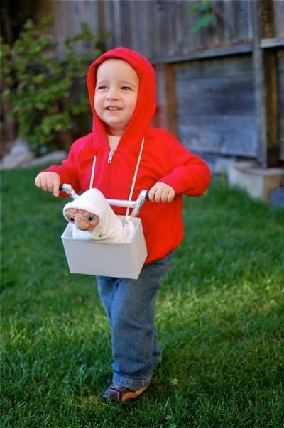 10 DIY Halloween Costumes for My Toddler. ET phone home. Simple and easy