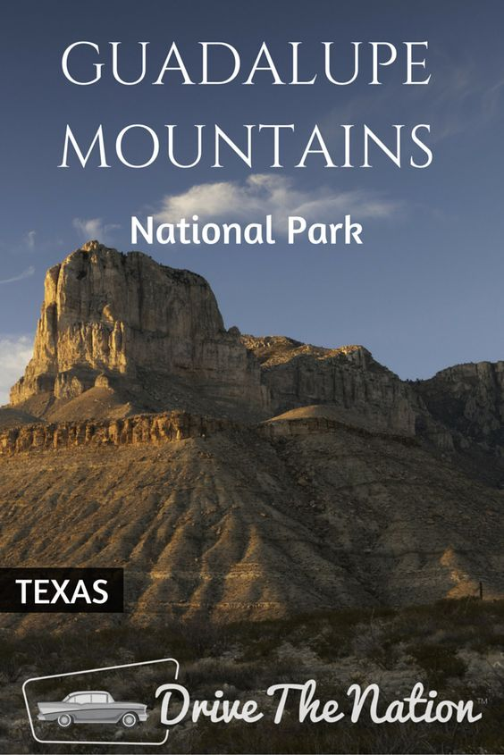 Located in West Texas on the border of Texas and New Mexico is where you'll find 86,416 acres of Guadalupe Mountains National Park.