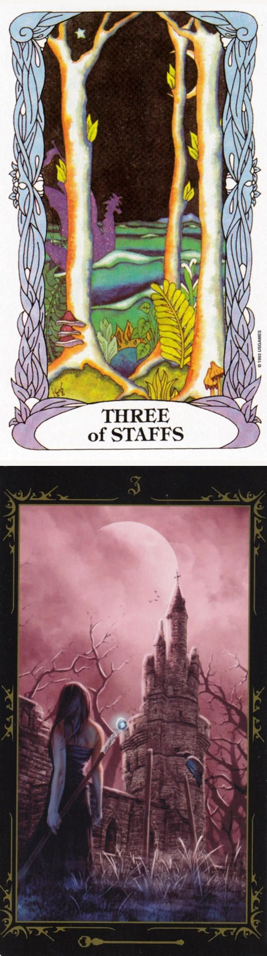 Three of Wands: rapid growth and obstacles (reverse). Moon garden Tarot deck and Dark Fairytale Tarot deck: tarot card reading online free uk, tarot oop vs tarot kids. Best 2017 tarot decks for sale and tarot spreads. #empress #spells #ghost