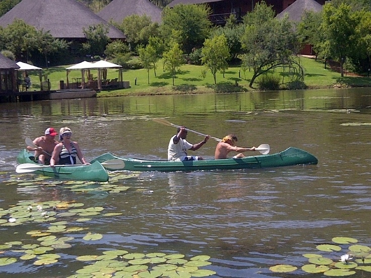 RAWL is busy with the Canoe Race - what a FUN group to have at Intundla Game Lodge! We hope to have you back here again soon!