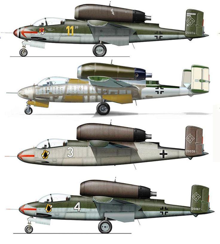 Heinkel He 162 Volksjger German Peoples Fighter