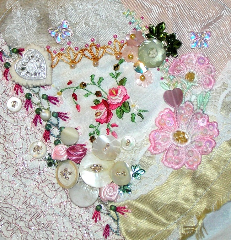 Crazy Quilt Tutorials | Crazy Quilting and Embroidery Blog