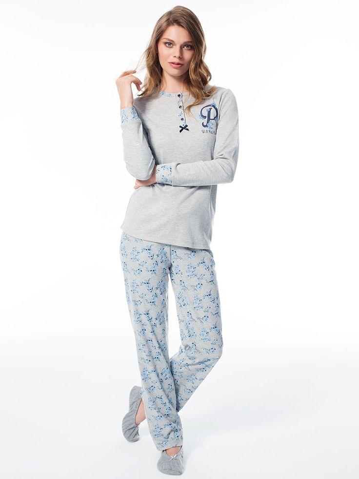 US Polo 15503 Bayan Pijama Takım    Mark-ha.com #markhacom #pijama #fashion #newseason #moda #trend #yenisezon #uspolo
